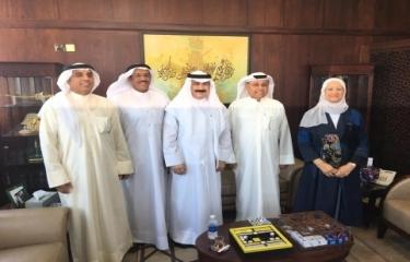 زيارة مكتبة الكويت الوطنية