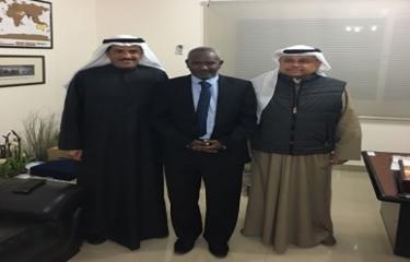 زيارة الأمين العام للجمعية الجغرافية السودانية