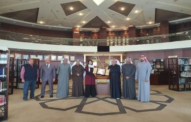 زيارة مكتبة الكويت الوطنيه